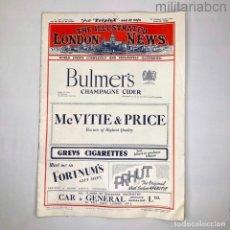 Militaria: REINO UNIDO. REVISTA THE ILLUTRATED LONDON NEWS DEL 23 DE JUNIO DE 1945. Lote 276913648