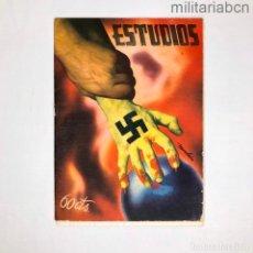 Militaria: REVISTA ANARQUISTA ESTUDIOS DE ABRIL DE 1937. Lote 276914933