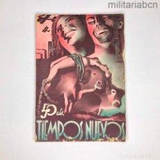 Militaria: REVISTA ANARQUISTA TIEMPO NUEVO DE DICIEMBRE DE 1936. GUERRA CIVIL ESPAÑOLA. Lote 276915338