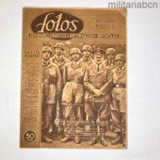Militaria: REVISTA FOTOS. Nº 169. SEMANARIO GRÁFICO NACIONAL SINDICALISTA 25 MAYO 1940.. Lote 276915378