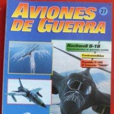 Militaria: AVIONES DE GUERRA PLANETA AGOSTINI. FASCÍCULO Nº 27. Lote 277305948