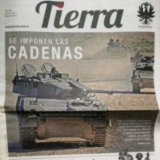 Militaria: PERIÓDICO TIERRA - Nº 252 - MAYO 2017. Lote 278554928