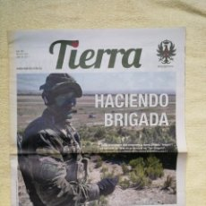 Militaria: PERIÓDICO TIERRA - Nº 254 - JULIO 2017. Lote 278555048