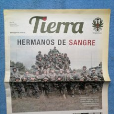 Militaria: PERIÓDICO TIERRA - Nº 256 - OCTUBRE 2017. Lote 278555103