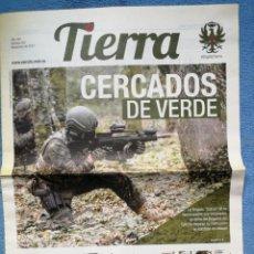 Militaria: PERIÓDICO TIERRA - Nº 257 - NOVIEMBRE 2017. Lote 278555298