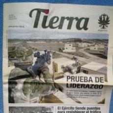 Militaria: PERIÓDICO TIERRA - Nº 270 - ENERO 2019. Lote 278555393
