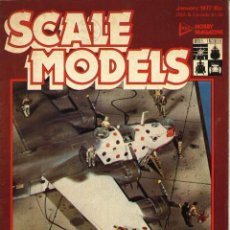 Militaria: SCALE MODELS AÑO 1977 ENERO. Lote 278575598