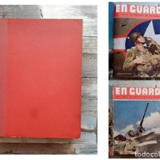 Militaria: REVISTA AMERICANA EN GUARDIA 2A GUERRA MUNDIAL, 10 EJEMPLARES ENCUADERNADOS. Lote 285223703