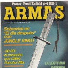 Militaria: REVISTA ARMAS- NUMERO 32- AÑO 1985- SOBREVIVA EN EL DIA DESPUES CON JUNGLE KING I. Lote 287586598