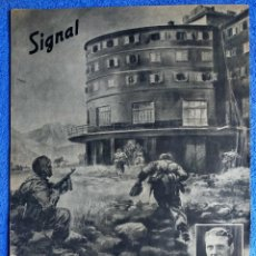 Militaria: SIGNAL EXTRA. LA LIBERACIÓN DE MUSSOLINI. OTTO SKORZENY. ED. ESPAÑOLA. HANS LISKA. 1943. Lote 289758673