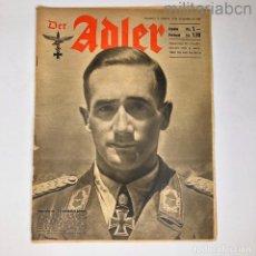 Militaria: ALEMANIA III REICH. REVISTA DER ADLER, PUBLICACIÓN DE LA LUFTWAFFE. Nº 19 SETIEMBRE 1942. Lote 290054718