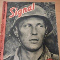 Militaria: ANTIGUA REVISTA SIGNAL NÚMERO ESPECIAL DICIEMBRE 1942, EN ESPAÑOL, NUMERO 23-24. Lote 293151203