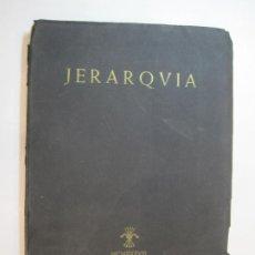 Militaria: GUERRA CIVIL-LA REVISTA NEGRA DE LA FALANGE-JERARQUIA-NUMERO 4-AÑO 1938 NAVARRA-VER FOTOS-(V-22.945). Lote 293828123
