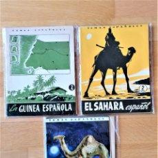 Militaria: 5 TEMAS ESPAÑOLES,TERRITORIOS ESPAÑOLES Y COLONIAS,EL SAHARA,LA GUINEA,LA GUINEA ESPAÑOLA,MARRUECOS. Lote 296836033