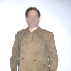 Militaria: CHAQUETON MILITAR 3/4 ESPAÑOL - ANTIGUO.. Lote 25737396