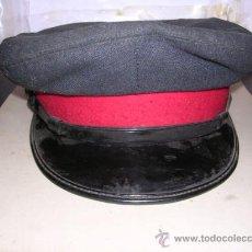 Militaria: GORRA DE TRANSPORTES DE BARCELONA -COMPAÑIA DE TRANVIAS-. Lote 9329491