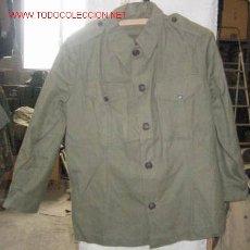 Militaria: CAMISOLA AÑOS 30-40 Y PANTALÓN DE PINZA. Lote 12049479