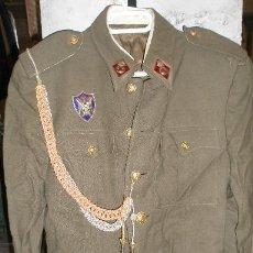 Militaria: GUERRERA DE ALFÉREZ DE ARTILLERÍA, CON PLACA IMEC, MIDE 42 CMS DE H A H. Lote 23088869