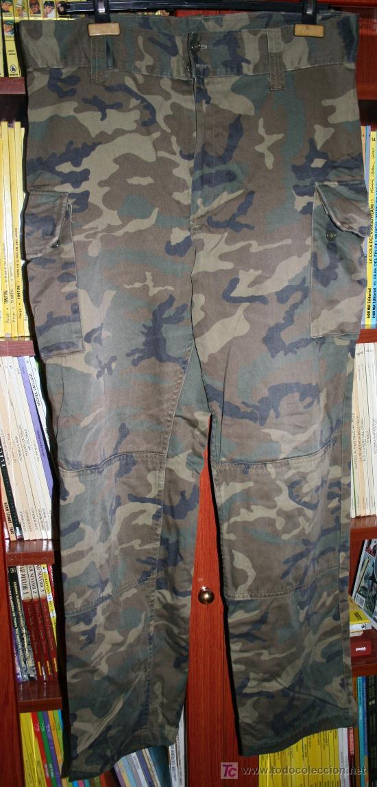 Pantalones De Camuflaje Del Ejercito Espanol Vendido En Venta Directa 24164670