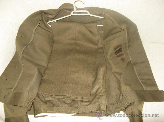 Militaria: UNIFORME DE TRABAJO CUADROS DE MANDO (HOMBRE).,AÑOS 90,TALLA 52-12-R) - Foto 2 - 21283667