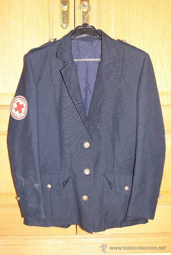 a8f6956429d2d Trop De Cruz Y Española Roja Camisa Chaqueta Comprar La Uniformes q6F0nA