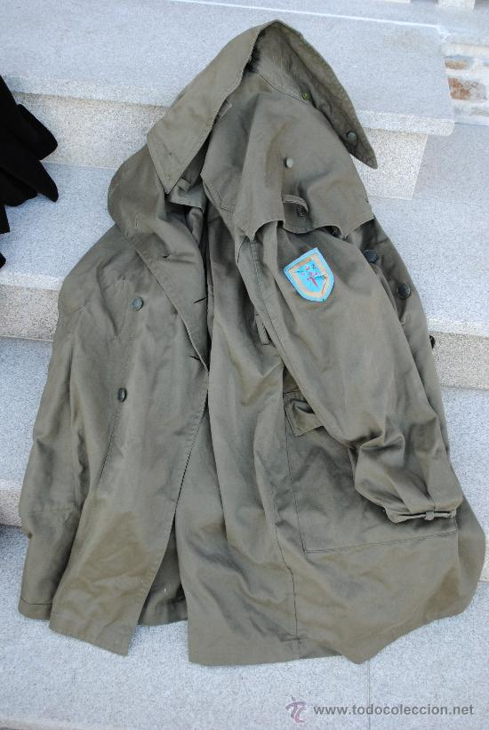 CHAQUETON 3/4 DE CAMPAÑA. FABRICADO POR CONTUSA EN 1971. TALLA 5. (Militar - Uniformes Españoles )