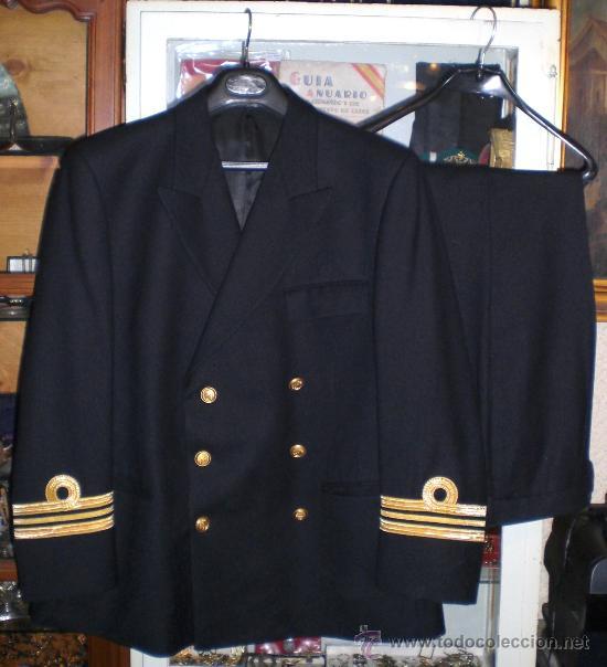 Uniforme Militar Capitan De Fragata Armada E Comprar