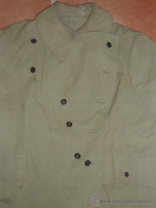Militaria: Antigua chaqueta o chaqueton militar grueso. guerra civil o años 40 - Foto 2 - 31921260