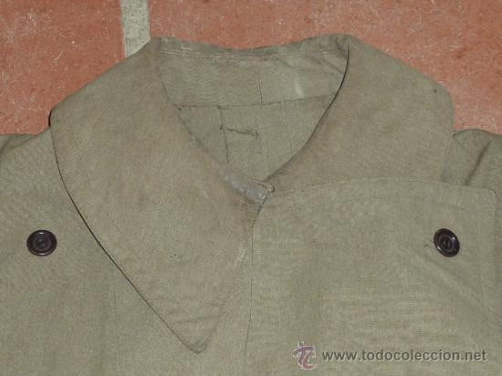 Militaria: Antigua chaqueta o chaqueton militar grueso. guerra civil o años 40 - Foto 3 - 31921260