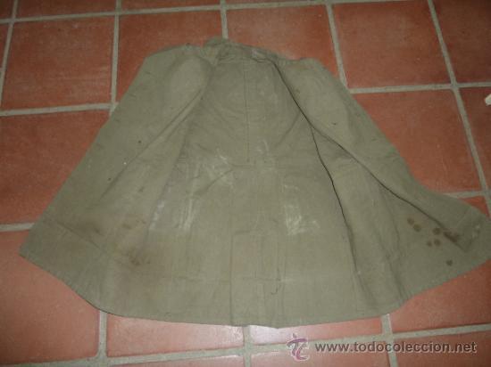 Militaria: Antigua chaqueta o chaqueton militar grueso. guerra civil o años 40 - Foto 9 - 31921260