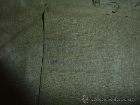 Militaria: Antigua chaqueta o chaqueton militar grueso. guerra civil o años 40 - Foto 10 - 31921260
