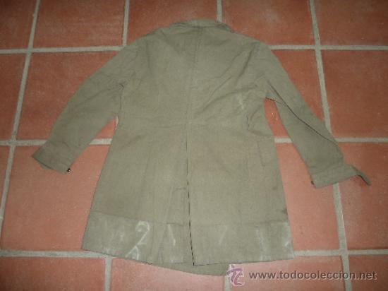 Militaria: Antigua chaqueta o chaqueton militar grueso. guerra civil o años 40 - Foto 11 - 31921260