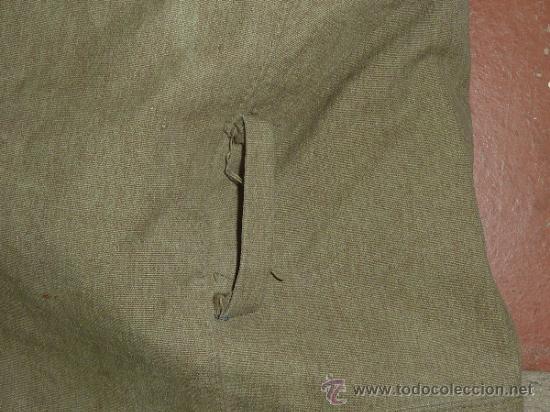 Militaria: Antigua chaqueta o chaqueton militar grueso. guerra civil o años 40 - Foto 12 - 31921260