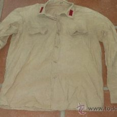 Militaria - Antigua camisa color garbanzo a identificar, Regulares ? - 32782271