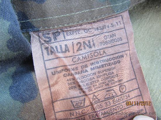 Militaria: PANTALONES GRUESOS CAMUFLAJE OTAN // PANTALON IDEAL AIRSOFT, SNOWBOARD, CAZA // TALLA 2N - Foto 5 - 34098132
