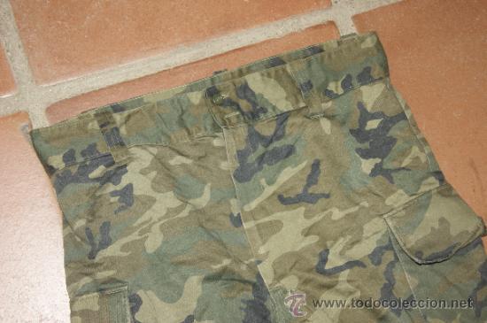 Militaria: Antiguo pantalon militar español de camuflaje - Foto 2 - 73493967
