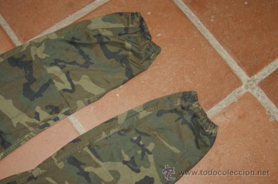 Militaria: Antiguo pantalon militar español de camuflaje - Foto 4 - 73493967