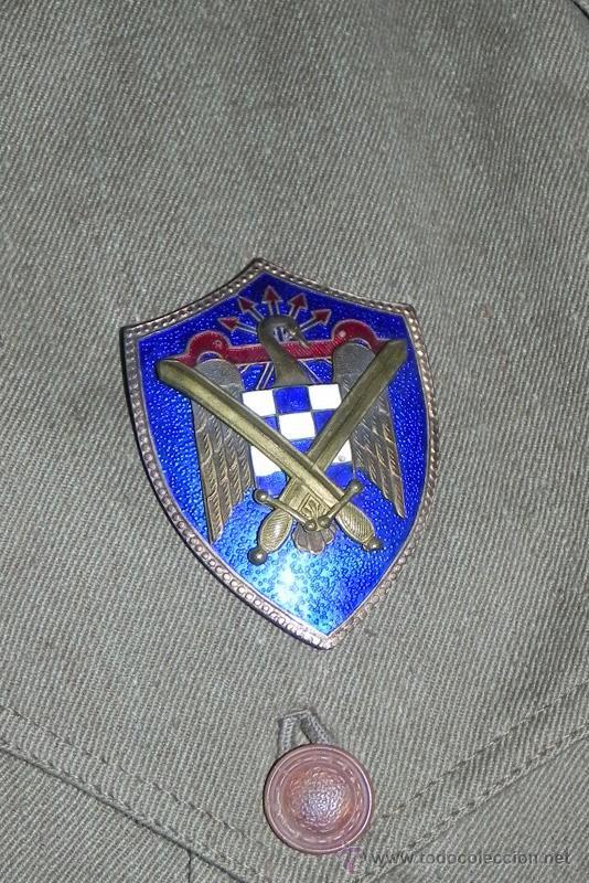 Militaria: ANTIGUO UNIFORME DE ALFEREZ, MILICIAS UNIVERSITARIAS, AÑOS 40-50, TODO ORIGINAL TAL COMO IBA EL PROP - Foto 5 - 34938868