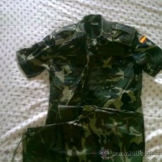 Militaria: CAMISA Y PANTALON EJERCITO ESPAÑOL-SIN USAR. Lote 36350978