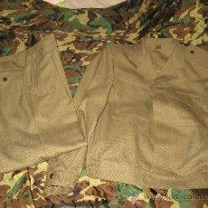 Militaria: UNIFORME DE TRABAJO CUADROS DE MANDO (HOMBRE).TALLA 52-6-R,NUEVO AÑOS 90. Lote 130021638
