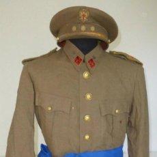 Militaria: UNIFORME CORONEL CABALLERIA ESTADO MAYOR. Lote 37347596