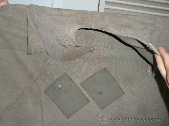 Militaria: Raro capote manta de la guerra civil, del cuerpo ejercito de galicia. - Foto 2 - 37475805