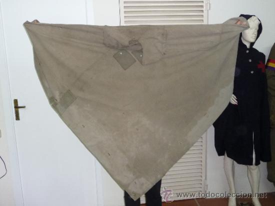 Militaria: Raro capote manta de la guerra civil, del cuerpo ejercito de galicia. - Foto 3 - 37475805