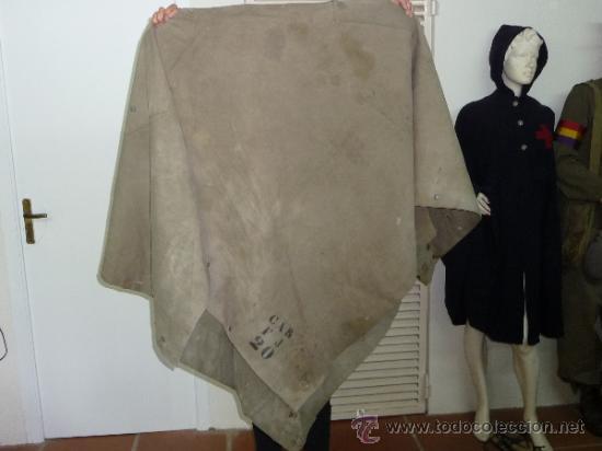 Militaria: Raro capote manta de la guerra civil, del cuerpo ejercito de galicia. - Foto 4 - 37475805