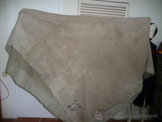 Militaria: Raro capote manta de la guerra civil, del cuerpo ejercito de galicia. - Foto 6 - 37475805