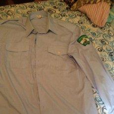 Militaria: CAMISA DE LA POLICÍA LOCAL DE SEVILLA, AÑOS 90. CON PARCHE ORIGINAL.. Lote 38863791