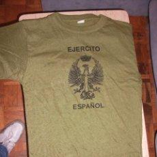Militaria: CAMISETA MILITAR EJERCITO ESPAÑOL NUEVA TODAS LAS TALLAS. Lote 43844731