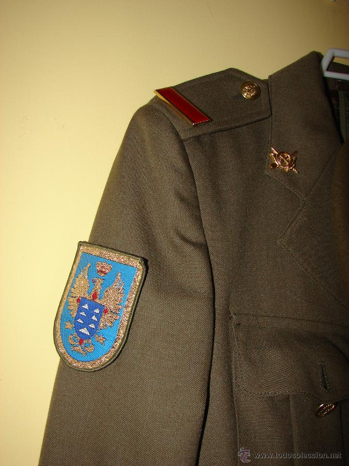 Militaria: TRAJE MILITAR DE GALA. EJERCITO ESPAÑOL. TALLA 40 - SOLDADO DE PRIMERA. COMPLETO - Foto 2 - 204425663