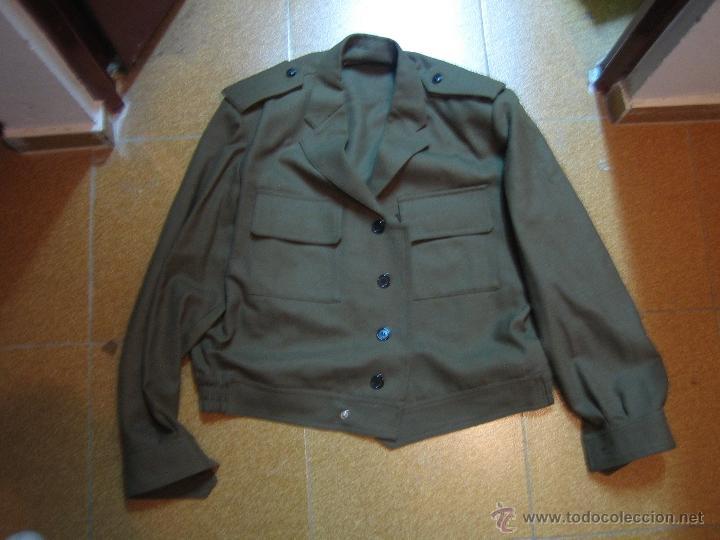 Militaria: Uniforme ejército Español. Ejército de Tierra. Guerrera corta - Foto 6 - 39944341