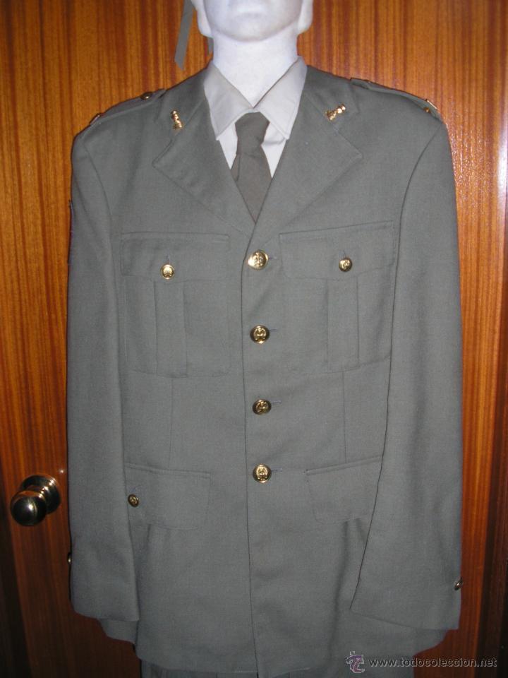 Militaria: UNIFORME COMPLETO DE INGENIEROS. EJERCITO DE TIERRA ESPAÑOL - Foto 4 - 42909676